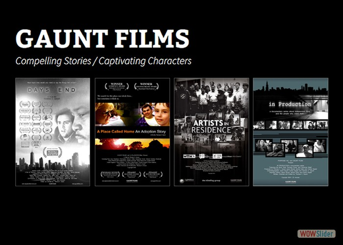 Check out our other projects at www.GauntFilms.com